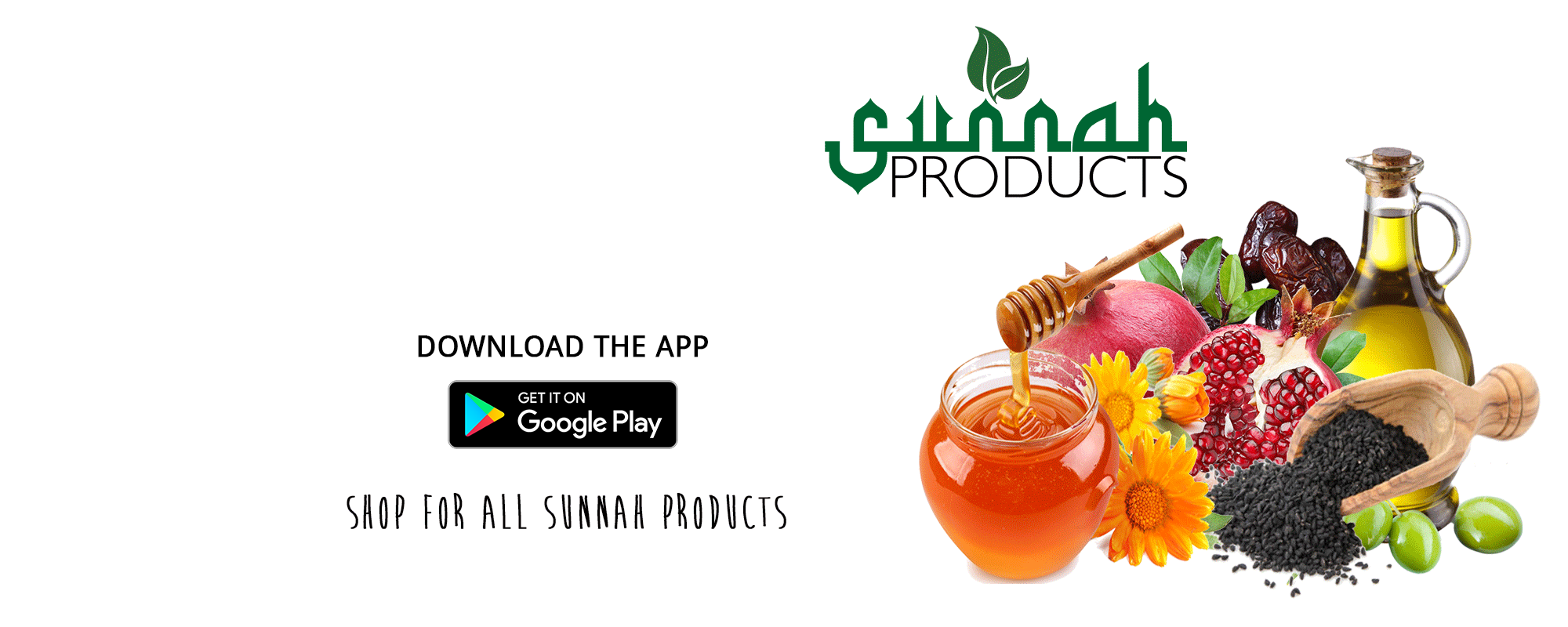 Shop for all <span>Sunnah Products</span>